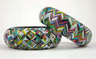 Bargello Bangles by Carol Blackburn