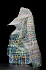 Woven Light - glass sculpture by Cathryn Shilling