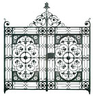 Gates for Weston Park, Sheffield by Chris Topp & Co.