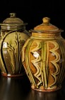 Large Lidded Jars by Doug Fitch