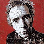 Johnny Rotten - mosaic by Ed Chapman