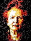 """The Baroness"" - mosaic by Ed Chapman"