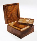 English Walnut Box by Edward Wild