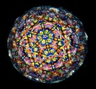 Image through a handmade kaleidoscope by Janet & Frank Higgins