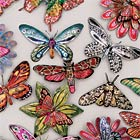 Butterfly and Flower Brooches by Melanie Tomlinson