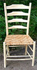 Green wood Ladderback Chair by Mike Abbott