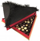 Fortnum and Mason Christmas Lord Mayor's Tri-corn Hat Chocolate Box by Naïve Textile Art