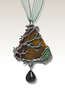 Axis Mundi - the Cosmic Tree - pendant