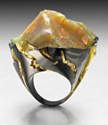 """Mount Zion"" ring by Ornella Iannuzzi"