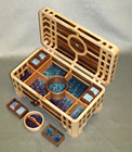 Lattice Treasure Chest by Robert Ingham
