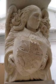 Angel - stone carving