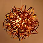 Ash Pendant Lamp by Tom Raffield