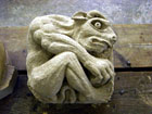Minataur - stone carving by Tom Brown