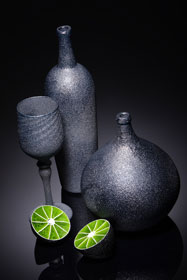 Elliot Walker - Still Life with a Lime. Photo: Simon Bruntnell