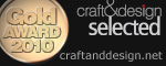 craft&design Selected Gold Award Winner 2010