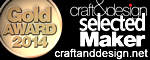craft&design Selected Gold Award Winner 2014