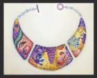 Naomi Nevill lizard necklace drawing