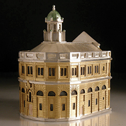 'Sheldonian Theatre' Architecture in Miniature by silversmith Vicki Ambery-Smith