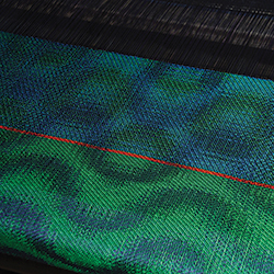Theo Wright Handweaver 'When Waves Collide'