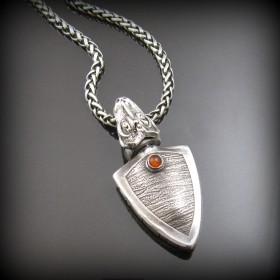 Freya's Tears Amulet by Tracey Spurgin of Craftworx