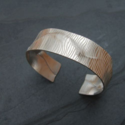 ?Emergence? bangle by Annette Petch