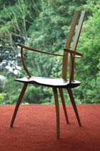 Alun Heslop's 'chaircreative' wooden seating